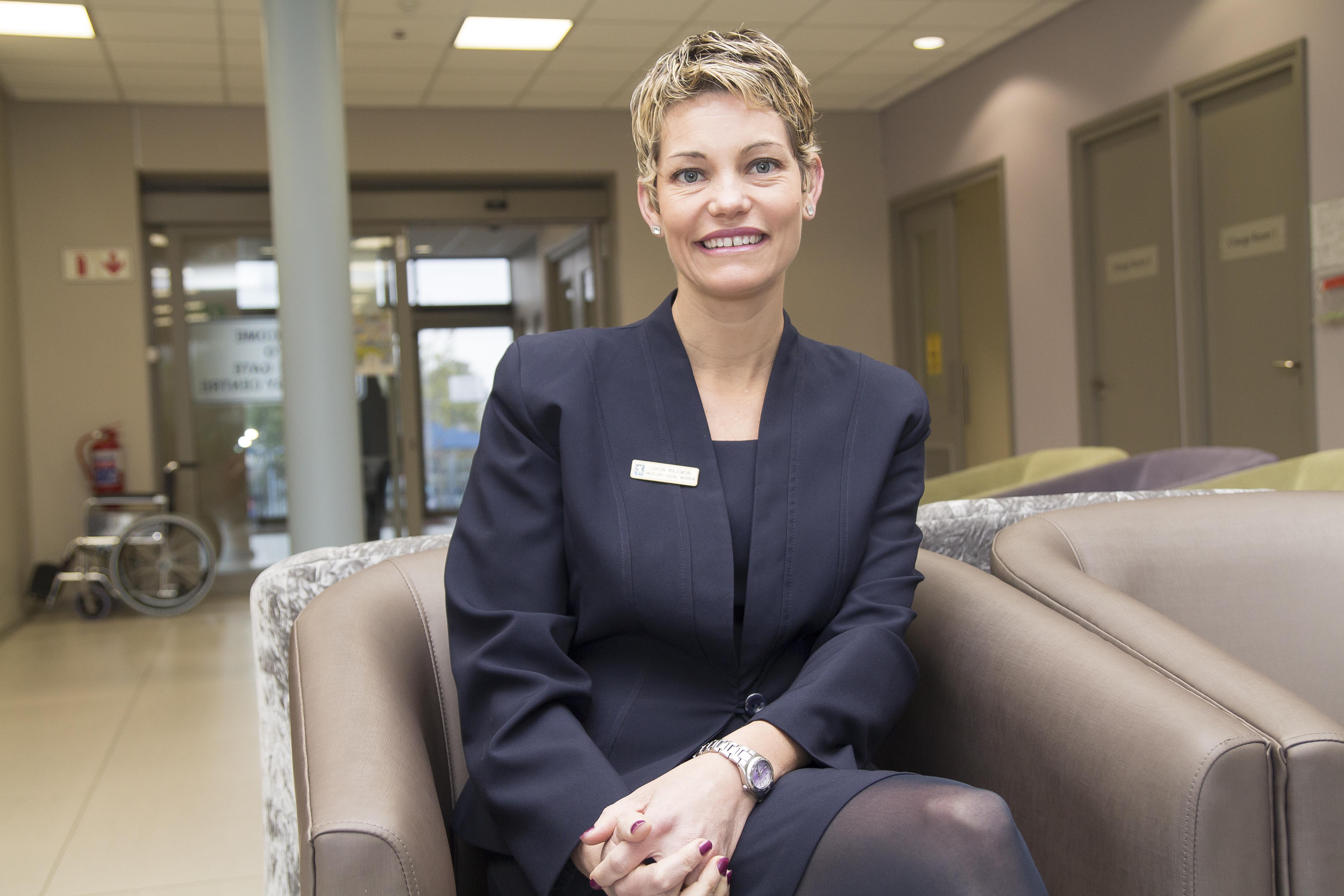 Cape Gate Oncology Centre social worker, Caron Majewski.